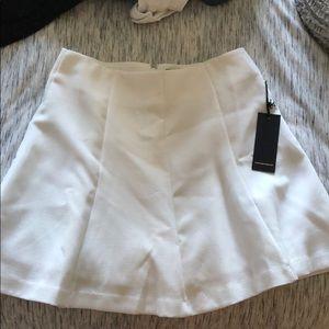 Forever 21 White Mini Skirt.